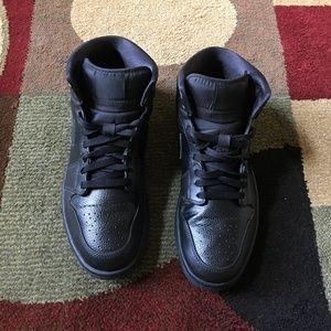 Nike Air Jordan1 Retro High All Black